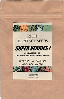 rich farm garden super veggies seed collection
