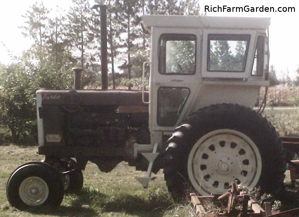 ROPS Cab tractor